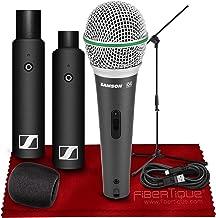 Sennheiser XSW-D XLR BASE SET Digital Wireless Plug-On Microphone System w/ Q6 Dynamic Handheld Microphone + Mic Stand and...