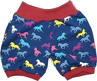 Kleine K/önige Kurze Pumphose Baby M/ädchen Shorts /· Modell Fr/äulein Rosalie Ziegelrot /· /Ökotex 100 Zertifiziert /· Gr/ö/ßen 50-152
