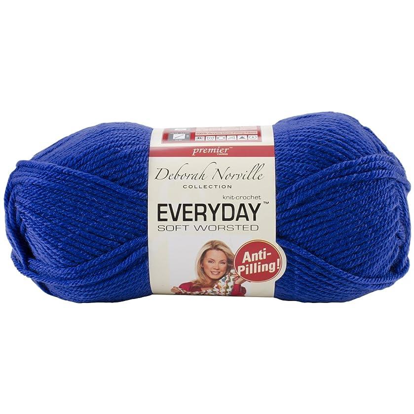 Premier Yarns Deborah Norville Collection Everyday Solid Yarn-Royal Blue