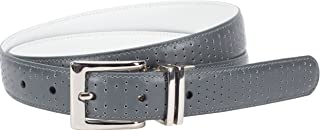 Women's Perforated-to-Smooth Reversible Belt