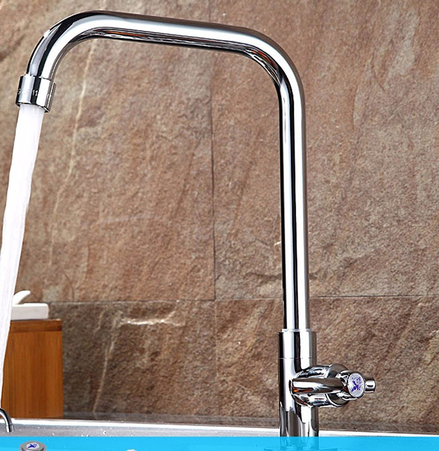 Hlluya Professional Sink Mixer Tap Kitchen Faucet Stainless Steel, single cold, into the wall, washing dishes, laundry, balcony, sink and faucet