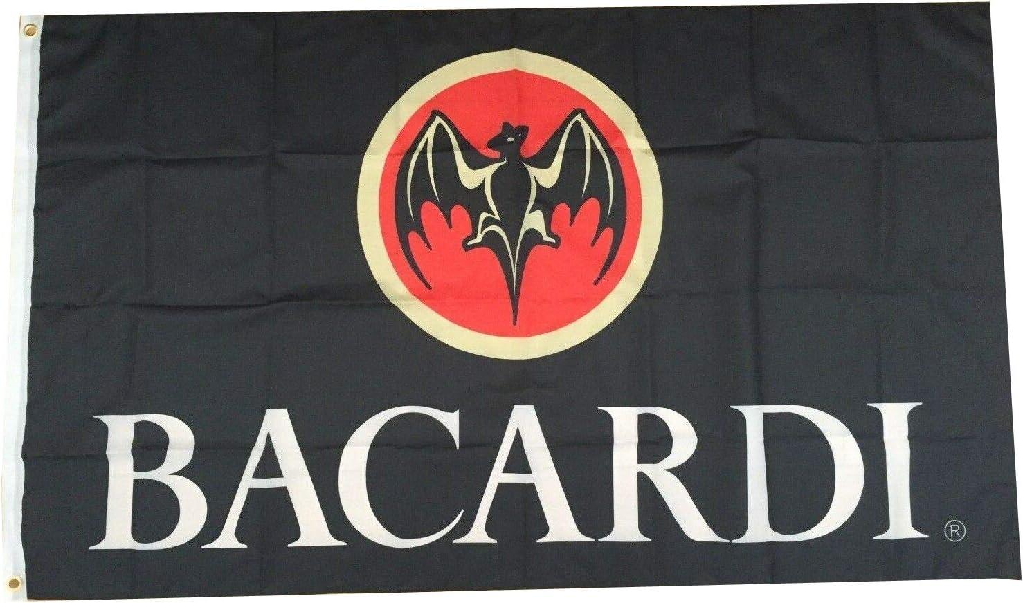 Flylong Bacardi Rum Flag Banner Alcohol Cave High material Man Liquor Direct stock discount Bar Gara