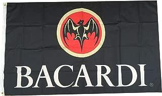 Flylong Bacardi Rum Flag Banner Alcohol Liquor Bar Man Cave Garage Decor 3x5Feet