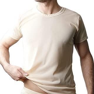 XL Hanes by ComfortBlend EcoSmart Crewneck Mens T-Shirt Heather Brown