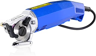 Reliable 1000FR Hand-Held Fabric Cutting Machine With Round Knife Cutting Machine 2 inch, 1/4 inch cutting capacity, Cast Aluminium Head, High Torque Motor, Built-In Sharpener and Knife Guard