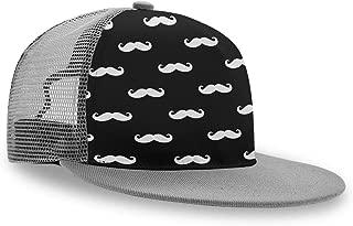 Trucker Hat Welsh Corgi Junk Food Men Boys Grey Baseball Cap Gift