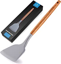 Zulay Premium Silicone Spatula (32cm ) - Flexible & Heat Resistant Rubber Spatula - Non-stick & Non-scratch Spatula Silico...