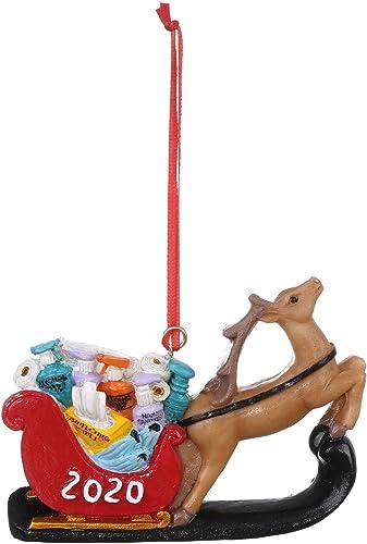 discount OPTIMISTIC outlet online sale DIY Christmas Ornament Elk Decoration 2020 Xmas Tree Ornament Holiday Home Party Decoration, Christmas outlet online sale Tree Haning Decoration Table Ornament sale