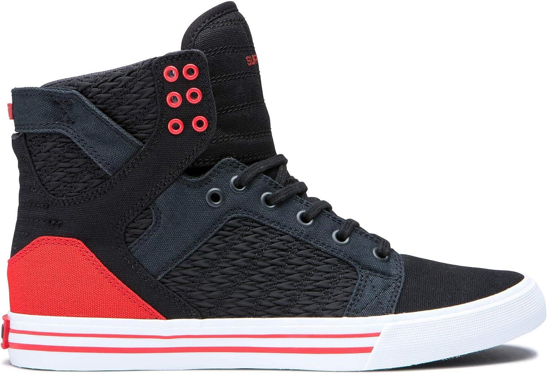 Supra Skytop skor skor skor - svart  Pirate svart  vit  bästsäljare