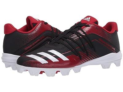 adidas Afterburner 6 MD (Core Black/Footwear White/Power Red) Men