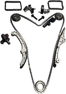 BOXI TK10830 Timing Chain Kit for 2007-2010 Ford Taurus/Edge/Flex, Lincoln MKX/MKZ, Mazda CX-9, Mercury Sable V6-3.5L DOHC Duratec Engine TK10830