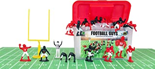 Kaskey Kids Football Guys – Red & White/Navy & White Inspires Kids Imaginations with Endless Hours of Creative, Open-Ended Play – Includes 2 Teams & Accessories – 28 Pieces in Every Set!