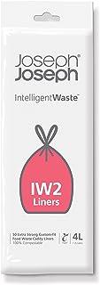 Joseph Joseph 30007 Intelligent Afvalzakken IW2 4L, Wit, 50 Stuk