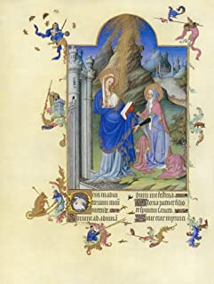 The Visitation Nillumination From The 15Th Century Manuscript Of The Tres Riches Heures Of Jean Duke Of Berry Poster Print...