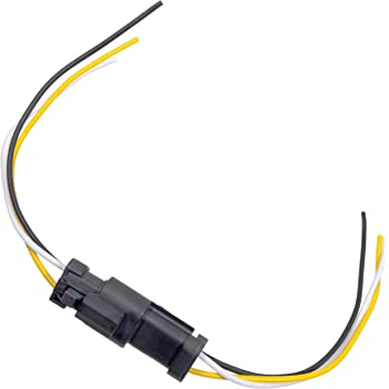 Amazon.com: APDTY 133813 3 Wire Universal Weatherproof Wiring Harness  Pigtail Connector Male & Female Kit (Allows Creation Of A Universal Quick  Connect & Disconnect 3-Way 3-Wire Weatherproof Wiring Harness): AutomotiveAmazon.com
