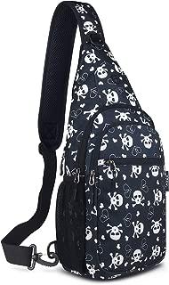 Sling Backpack, Shoulder Chest Crossbody Bag Small Daypack for Outdoor Hiking Men & Women