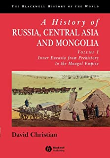 A History of Russia, Central Asia and Mongolia, Volume I: Inner Eurasia from Prehistory to the Mongol Empire: 1