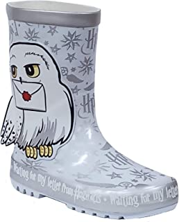 Kids Girls Childrens Rubber Rain Snow Boots Wellies