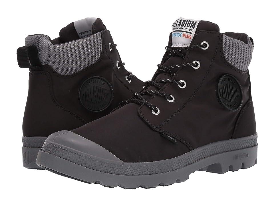 Palladium Pampa Lite Cuff WP (Black) Shoes