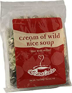 The Secret Garden, Cream of Wild Rice Soup; All Natural, Vegetarian, Minnesota Wild Rice 6-pa