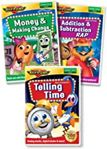 ROCK N LEARN Early Math DVD Collection: Addition & Subtraction Rap, Telling Time, Money & Making Change
