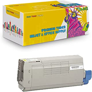 Yellow Toner for Oki C711 C710 C711N C710N C711DN C710DN C711DTN 44318601