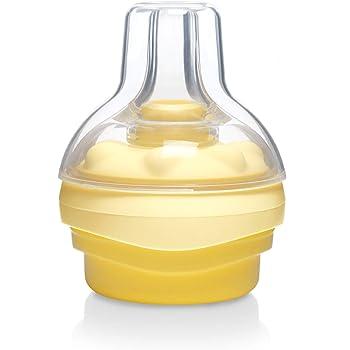einseitiges Abpumpen Medela Swing Flex elektrische Milchpumpe Calma Sauger aus Silikon f/ür Neugeborene 0-6 Monate f/ür mehr Milch in weniger Zeit