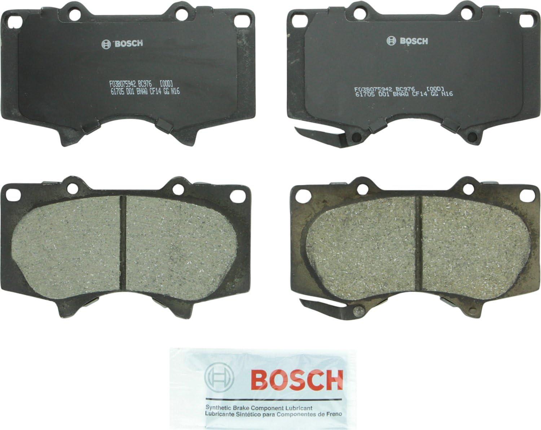 Bosch Super beauty product restock quality top! Ranking TOP7 BC976 QuietCast Premium Ceramic Disc For: Set Le Pad Brake