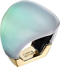 Alexis Bittar Asymmetrical Block Ring
