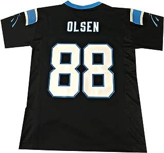 Greg Olsen Carolina Panthers #88 Black NFL Toddler Home Mid Tier Jersey