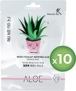 Face Mask Korean Sheet Masks Skin Care Aloe Vera Deep