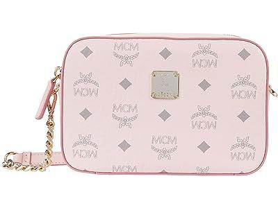 MCM Visetos Original Crossbody Mini (Soft Pink) Bags