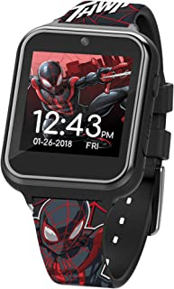 Marvel Boys' Touchscreen Watch with Plastic Strap, Multicolor, 15 (Model: SPD4664AZ)