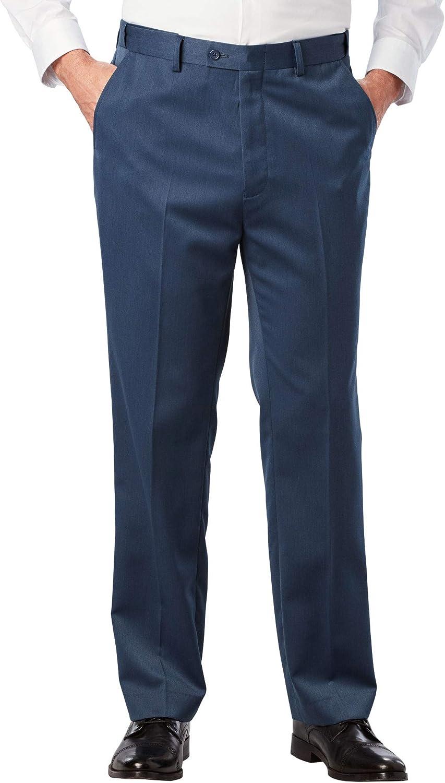 KingSize KS Signature Men's Big & Tall Easy Movement Plain Front Expandable Suit Separate Dress Pants