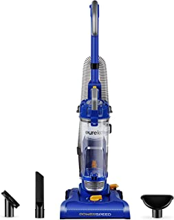 Eureka NEU182A PowerSpeed Lightweight Bagless Upright Vacuum Cleaner, Lite, Indigo Blue