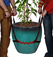 PotLifter - Potted Plant Mover and Essential Lifting Tool For Garden Flower Pots, Planters, Trees, Rocks - Lifts Up to 200 Pounds - A Plant Caddy Alternative, Easily Move Heavy Items Around Your Yard