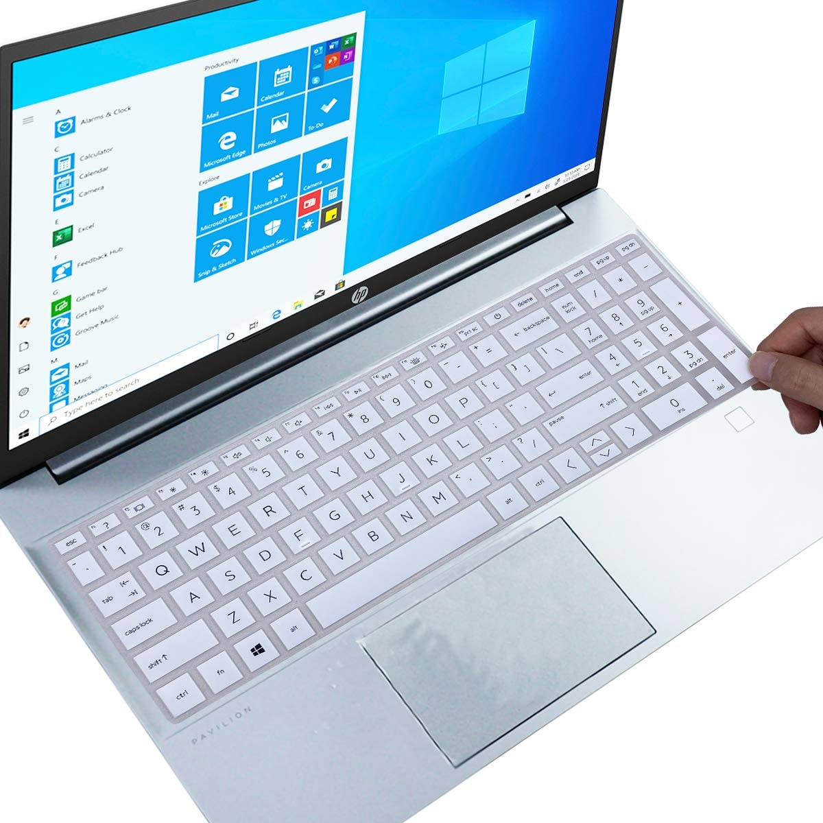 Keyboard Cover for 2021 HP Pavilion 15.6