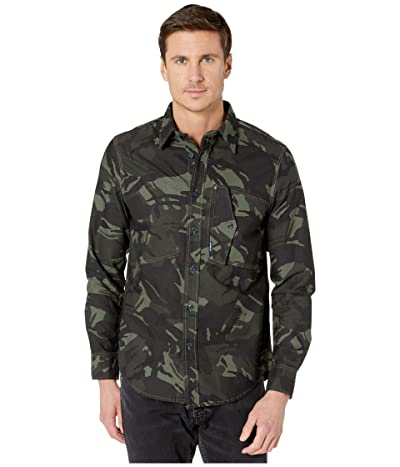 G-Star Scutar Straight Shirt (Wild Rovic/Dark Combat) Men