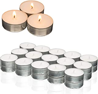 New Home Lot de 10 bougies chauffe-plat en forme d/étoile Dor/é