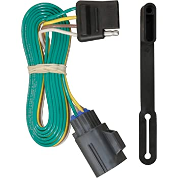 Amazon.com: CURT 56245 Vehicle-Side Custom 4-Pin Trailer Wiring Harness,  Select Chevrolet Traverse, GMC Acadia, Buick Enclave: AutomotiveAmazon.com