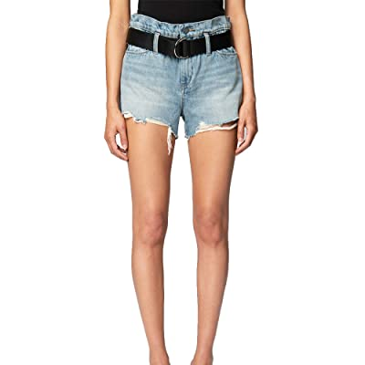 Blank NYC Belted Waist High-Rise Shorts (Risk Taker) Women