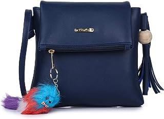 GLOSSY Women's Sling Bag (vs7770831_Blue)