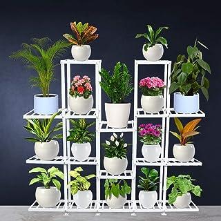 TrustBasket Orian Planter Stand (White) – Plant Stand Flower Pot Holder/Multipurpose Planter Stand