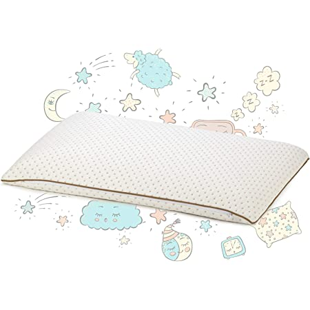 Childrens Pillow According to Oeko-Tex Standard 100 Soft Hypoallergenic Baby Pillow for All Sleeping Positions Childrens Pillow 40 x 60 cm from 1 Year Healthy