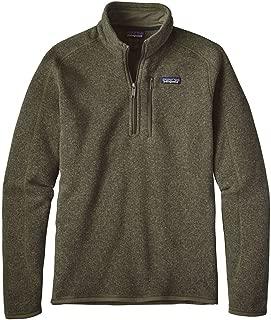 Patagonia Men's Better Sweater 1/4 Zip Industrial Green (INDG)
