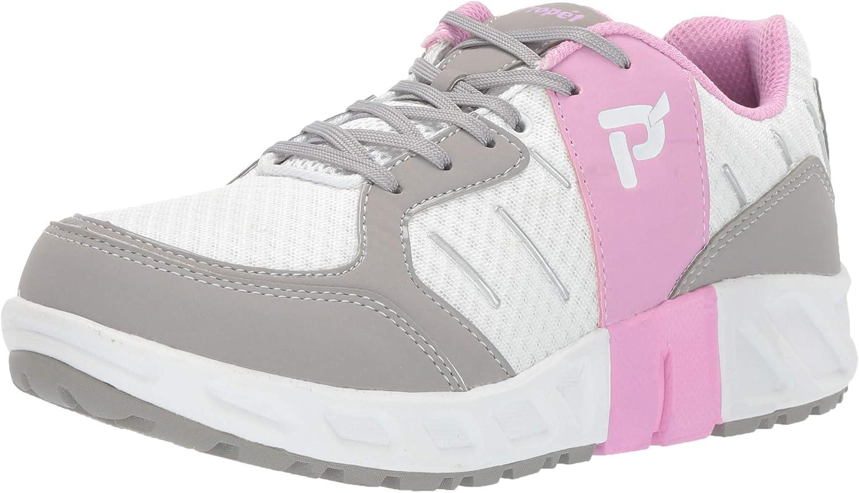 Propet Women's Matilda Sneaker White Pink 09 B US