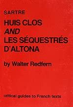 """Sartre: """"Huis Clos"""" and """"Sequestres d'Altona"""""""