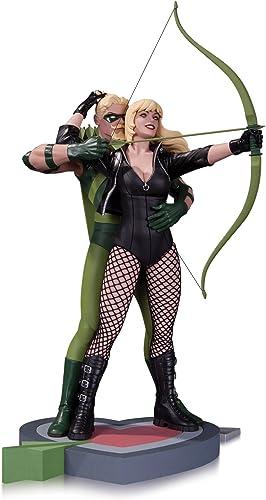 DC Comics aug150310 ün Arrow und SchwarzKanarischen Statue
