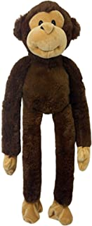"Multipet Swingin Safari Monkey Plush Dog Toy Large (22"")"