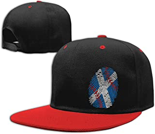 Scotland Flag Baseball It`s in My DNA Men`s/Women`s Adjustable Flat Bill Baseball Cap Back Cap Hat